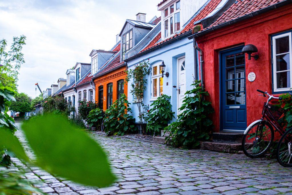 Photo of Danish houses